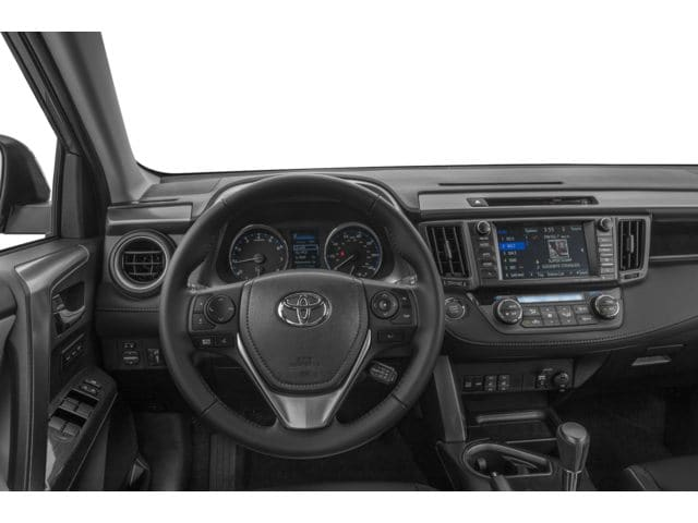 inside the 2017 Toyota RAV4