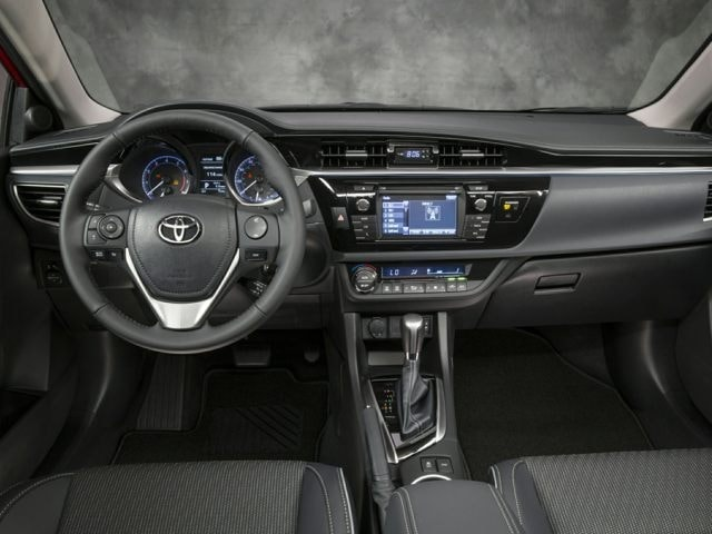 inside the 2016 Toyota Corolla