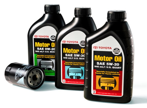 genuine OEM Toyota oil & filter