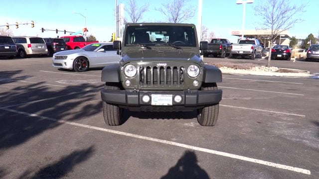 new 2016 jeep wrangler unlimited sport 4x4 denver co. Cars Review. Best American Auto & Cars Review