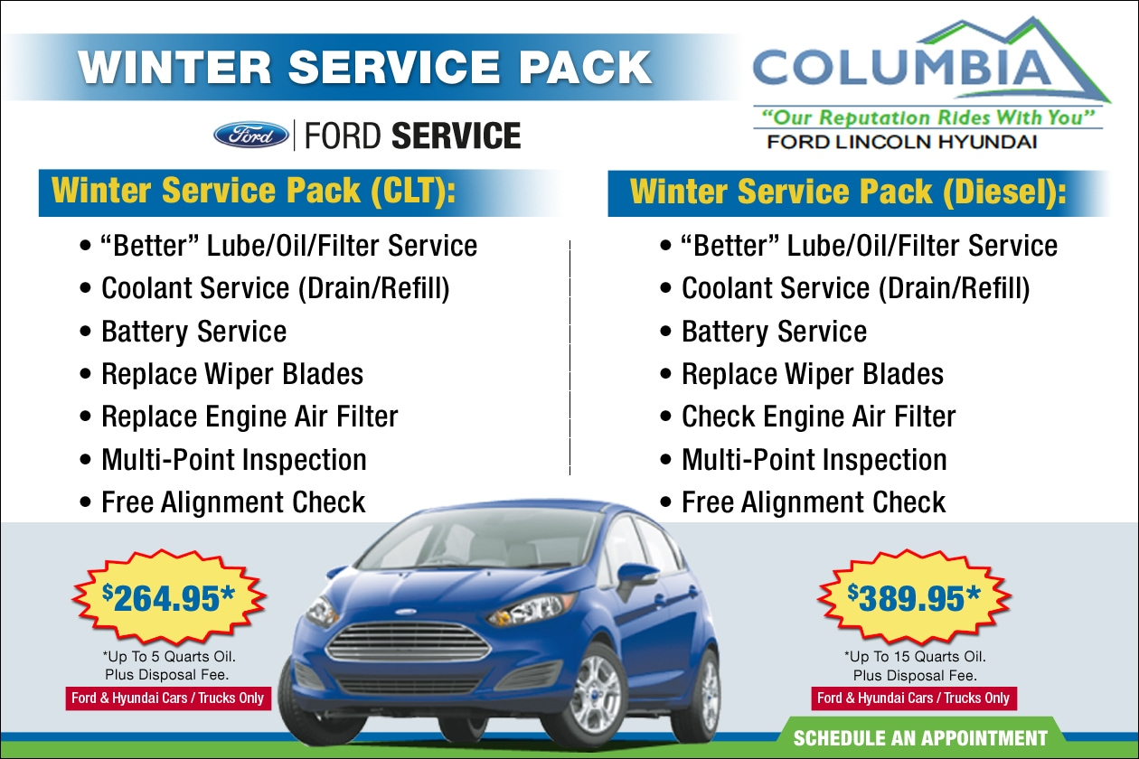 Lincoln service coupons