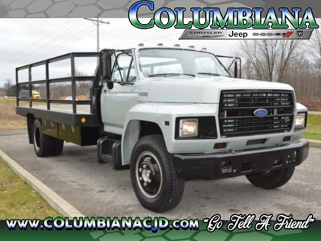 1988 Ford F-600 370-4v Truck