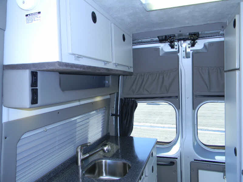 Nissan NV1500 and NV2500 Conversion Van Motorhome Camper at Connell