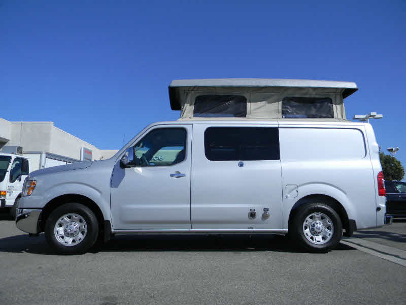 nissan nv camper conversion