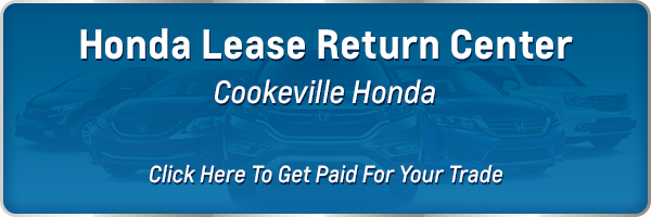 Honda Lease Return near Cookeville TN