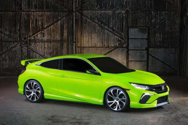 The 2015 Honda Civic Type -R