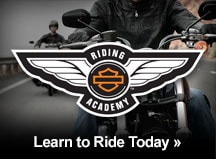 Harley-Davidson Riding Academy - Learn to ride a motorcycle today