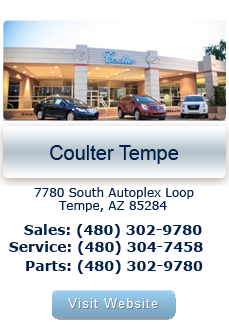 Coulter automotive group new buick cadillac gmc autos post for Coulter motor company tempe