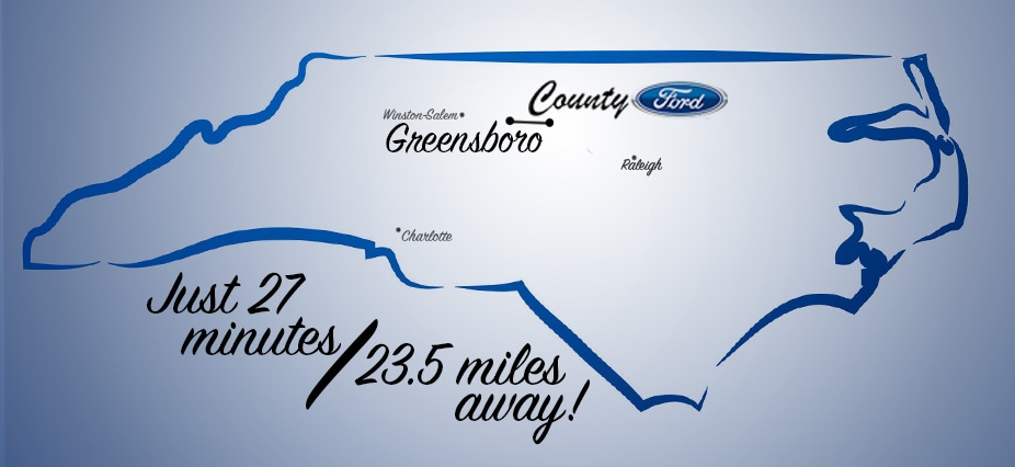New Ford Dealership Near Greensboro NC Directions And Inventory - Ford dealership in greensboro nc