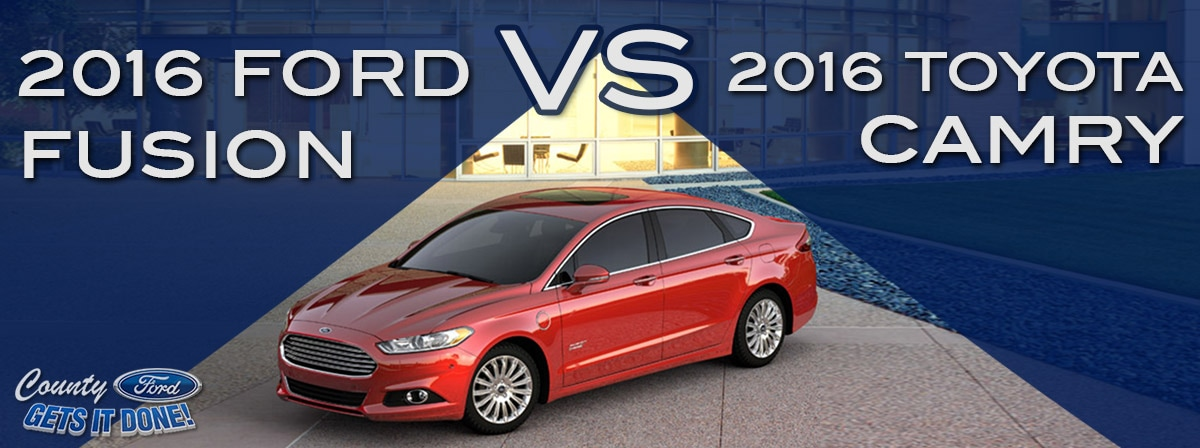 Ford Fusion vs. Toyota Camry