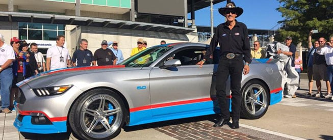 Richard Petty and the Mustang GT King Premier Edition