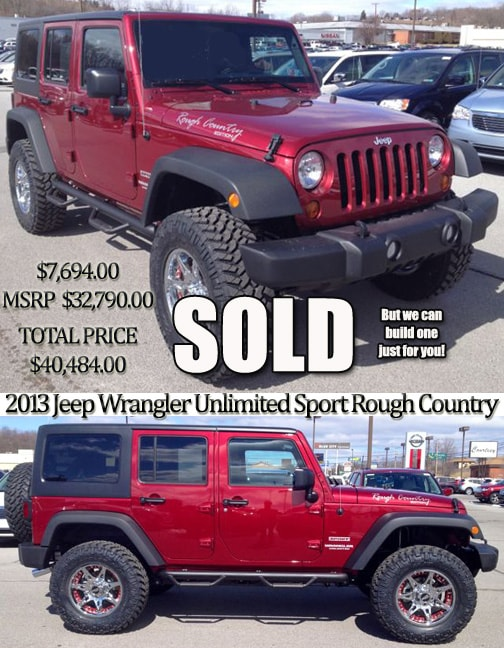 jeep custom performance specialist altoona pa new and used jeep accessories parts for sale. Black Bedroom Furniture Sets. Home Design Ideas