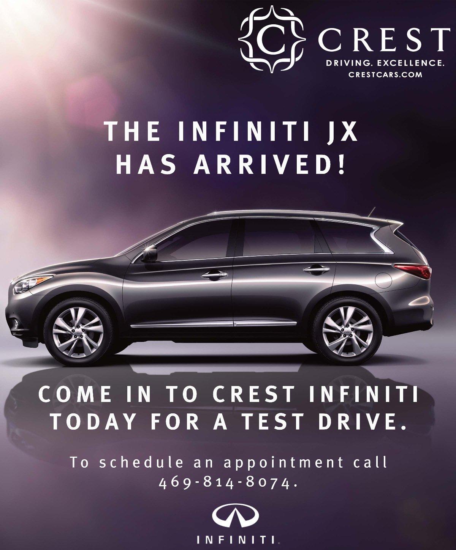 Las Vegas Audi Service Coupons >> Crest Infiniti Coupons. Crest Infiniti Coupons Infiniti Service Repair In Frisco . New 2012 ...