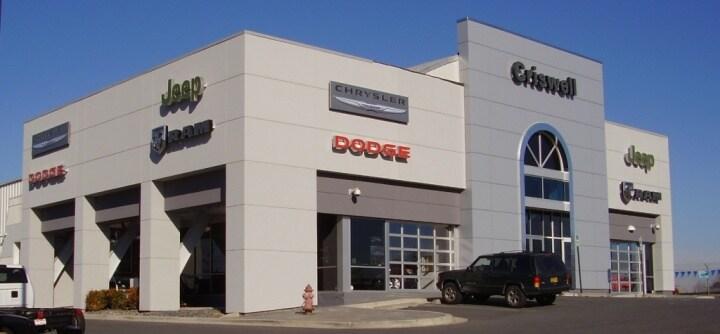 Criswell Chrysler Dodge Jeep RAM dealership in Gaithersburg, MD