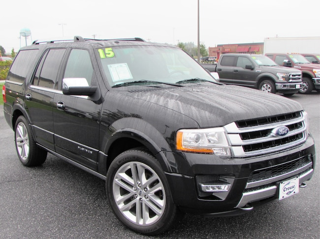 Used 2015 Ford Expedition Platinum SUV Taneytown