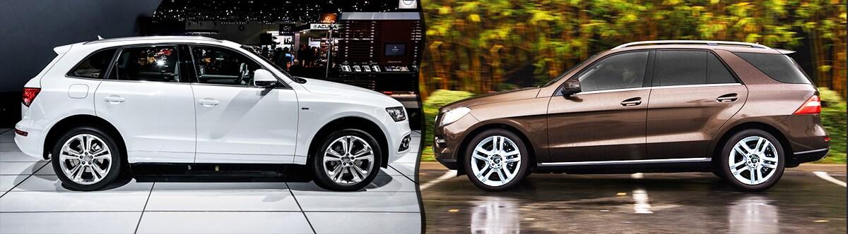 2015 audi q5 vs mercedes benz ml350 review compare specs for Mercedes benz ml350 tires compare prices reviews
