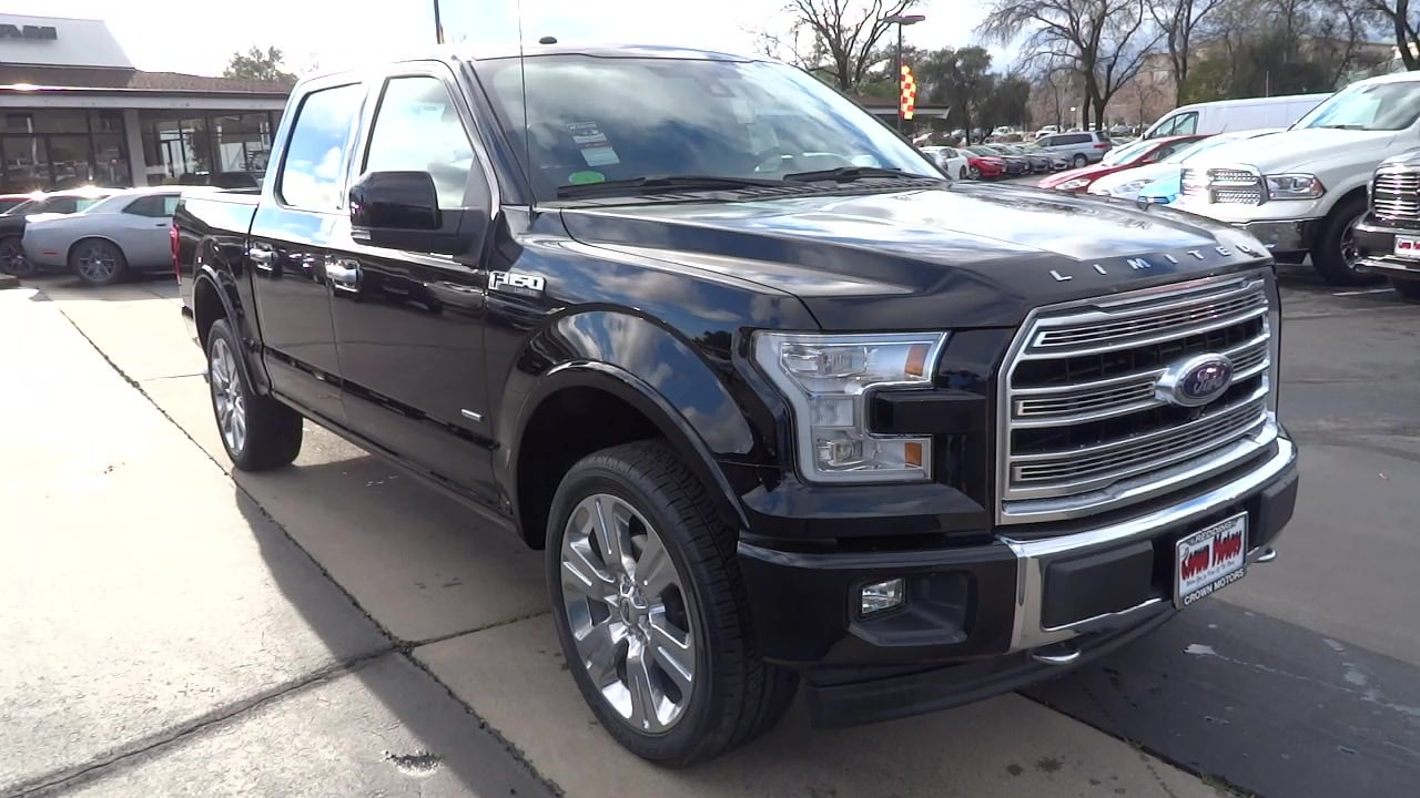 2017 Ford F-150 Limited Pickup