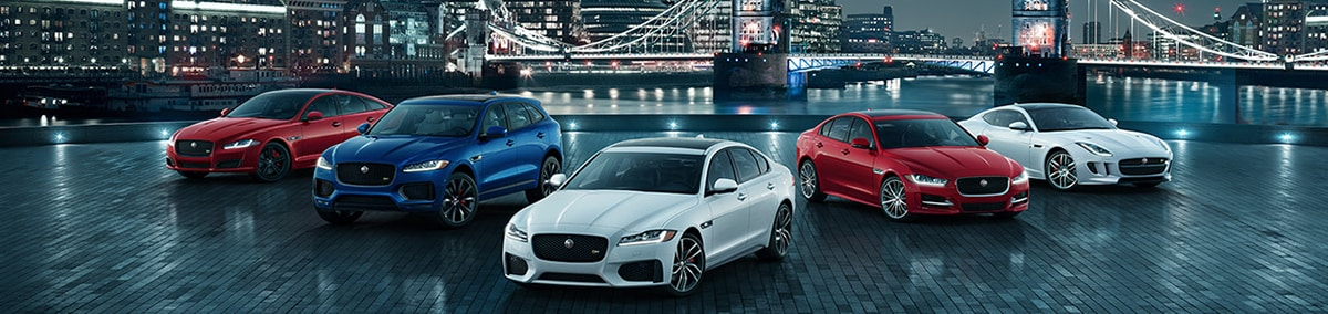 Jaguar Model Lineup
