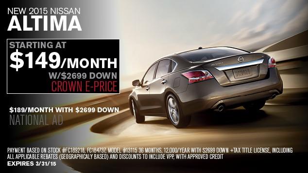 Crown Nissan of Greenville | New Nissan Dealership Serving ...