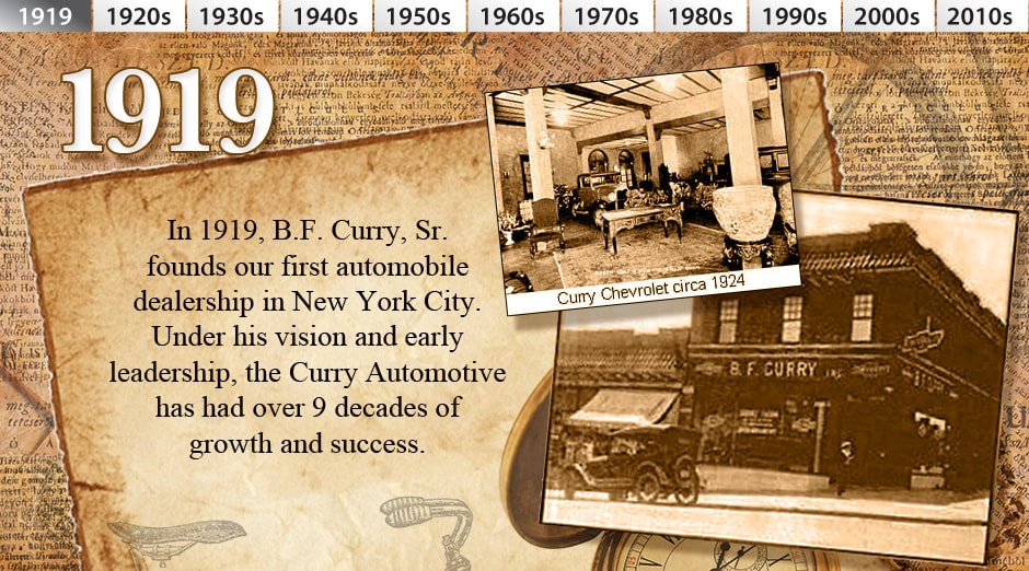 History Of Curry Automotive Ny Ct Ma Car Dealerships