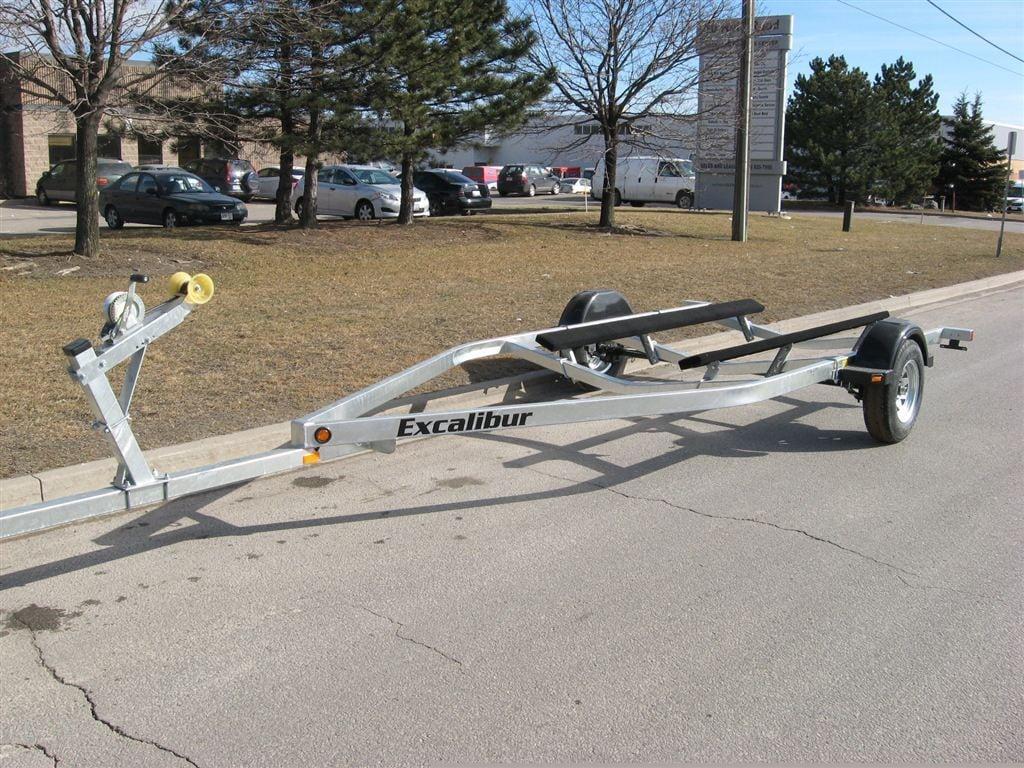 Boat Trailer Axles : New excalibur lb single axle boat trailer for
