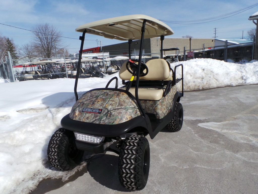 2014 CLUB CAR Precedent CAMO EDITION - Electric Golf Cart 48V