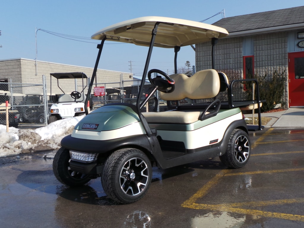 2014 CLUB CAR Precedent Custom Painted golf Cart With 12inch low profile wheels