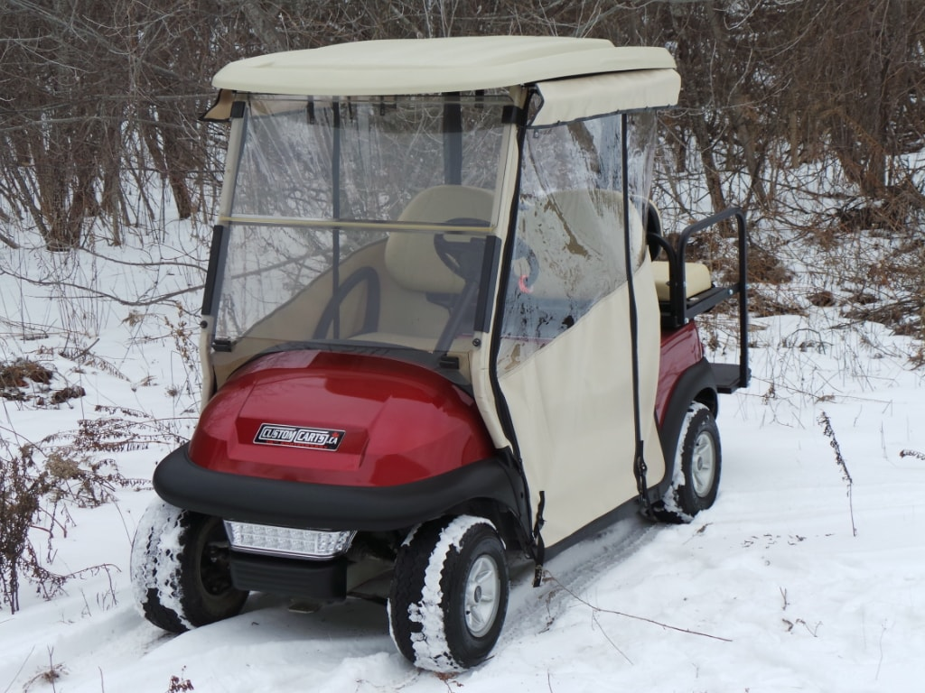 2009 CLUB CAR Precedent Electric Golf Cart - Chameleon Enclosure Upgrade