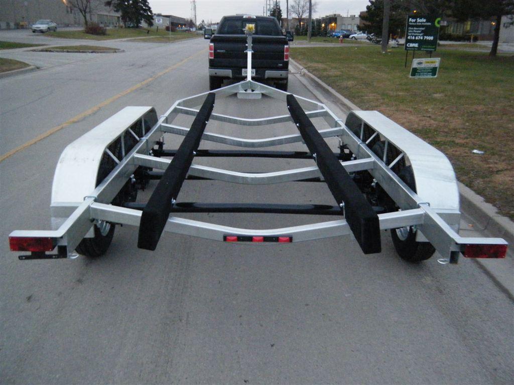 Boat Trailer Axles : New excalibur lb tri axle boat trailer for