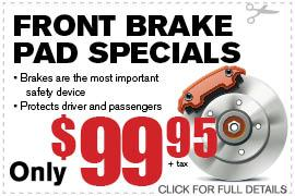 Coupon Brake Pad | Camelback Ford Discount Phoenix AZ
