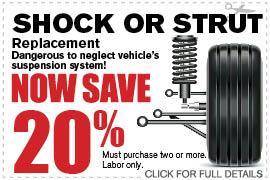 Coupon Shock or Strut | Camelback Ford Discount Phoenix AZ