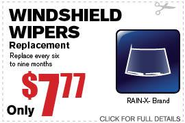 Coupon Windshield Wipers | Camelback Ford Discount Phoenix AZ