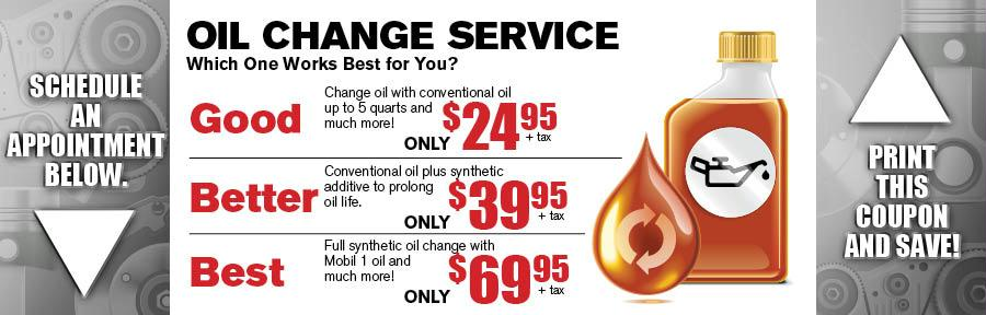 Ford motorcraft oil change coupon