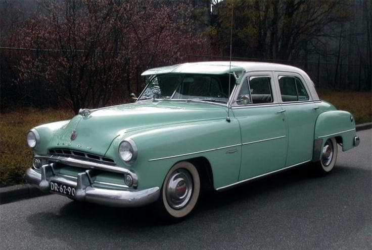 Dodge Vehicle History 1950 1959 Country Chrysler Dodge