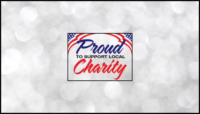 Proud to Support Your Local Charity