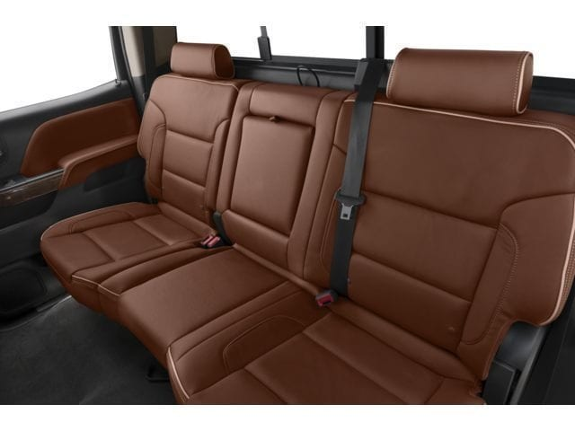 New Chevy Silverado Back seat