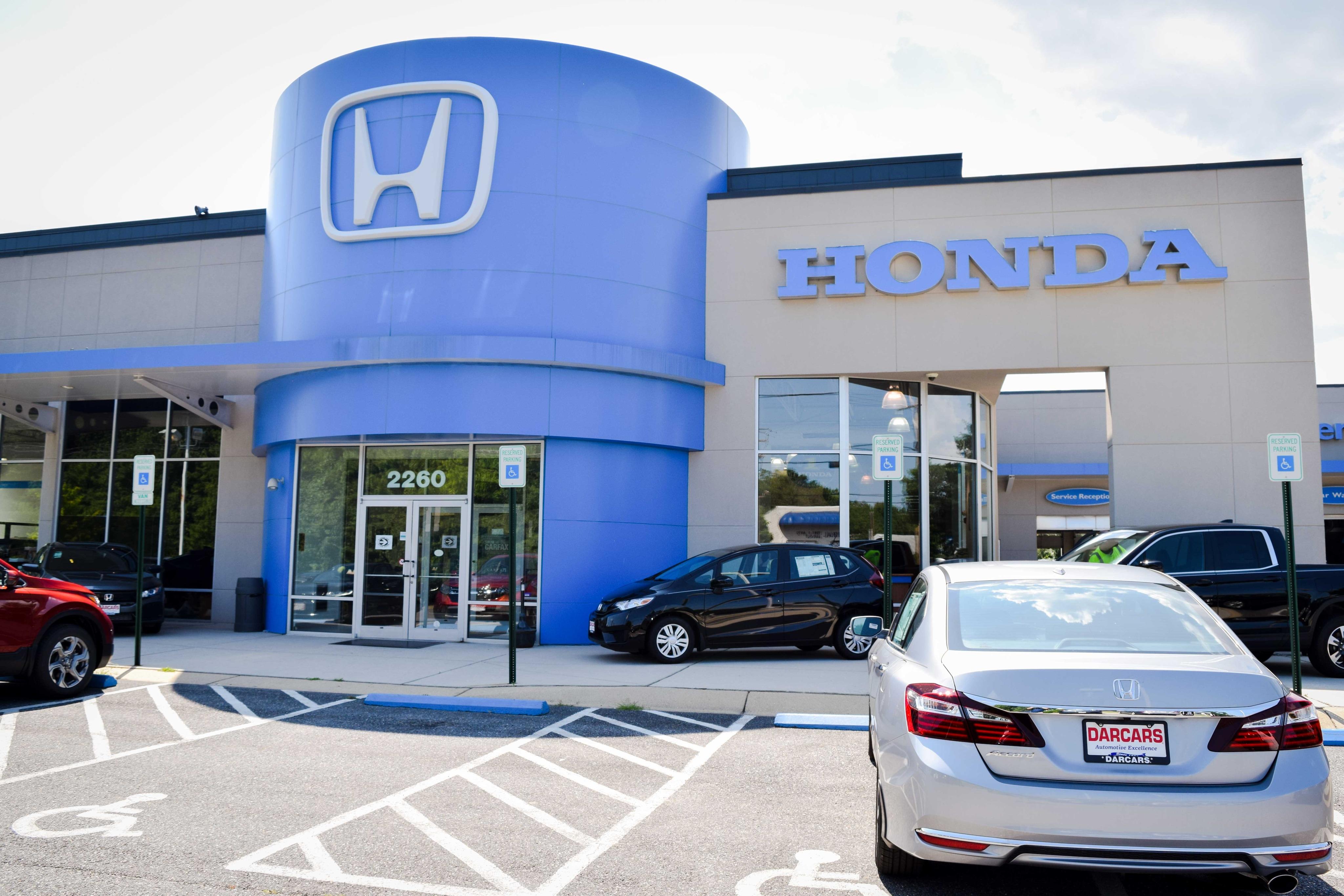 New used honda dealer darcars honda in bowie serving for Chicago area honda dealers
