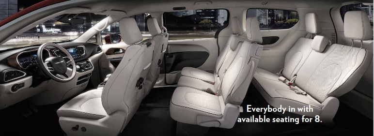 8 seating mini van - 2017 chrysler pacifica - pacific missouri