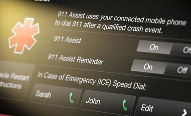 911 assist emergency call from your car