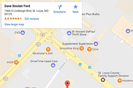 Dave Sinclair Ford Ford Dealership In St Louis Mo