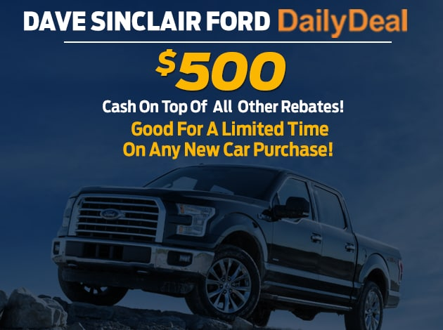 Daily Deals At Dave Sinclair Ford In St Louis MO Ford Truck - Ford dealers st louis
