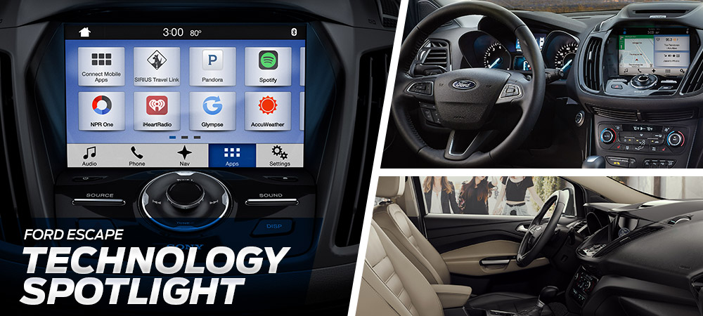 2018 Ford Escape Technology Spotlight