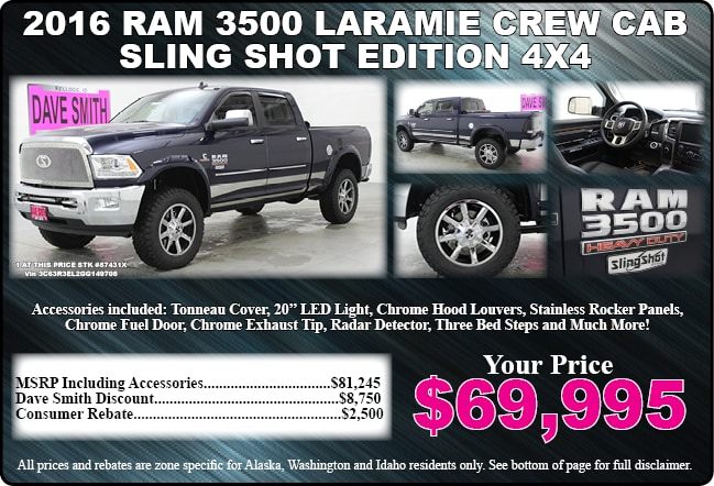 Chrysler dodge jeep ram special offers dave smith for Dave smith motors kellogg idaho inventory