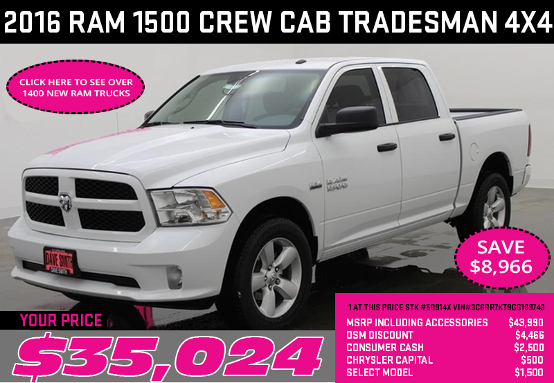 Dave Smith Motors Dodge Ram Trucks Chrysler Jeep Autos Post