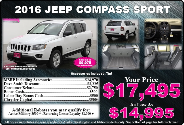 New car specials on trucks cars and suvs dave smith for Dave smith motors used trucks