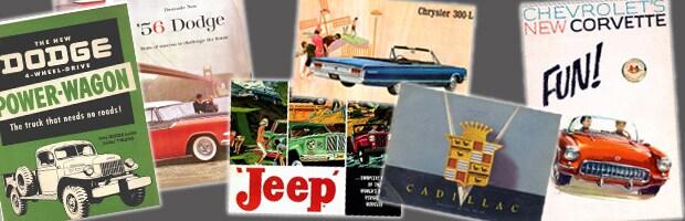 online brochures, car brochures, dave smith brochures