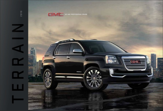 Image Gallery Gmc Brochures