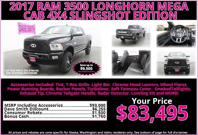 Chrysler Dodge Jeep Ram Specials Dave Smith - Chrysler specials