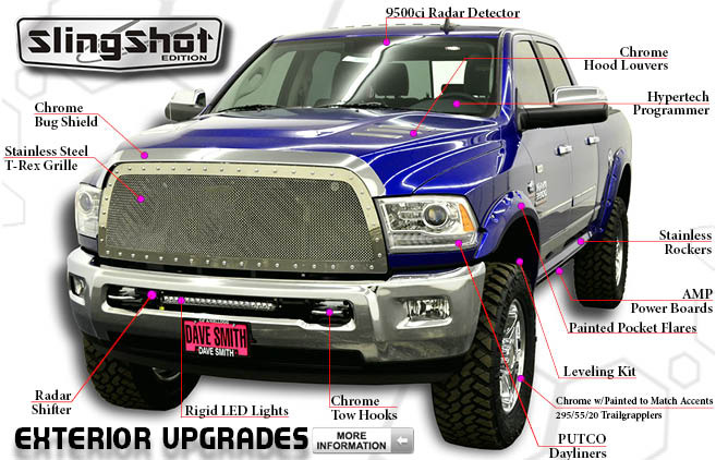 Ram slingshot edition autos post for Dave smith motors locations