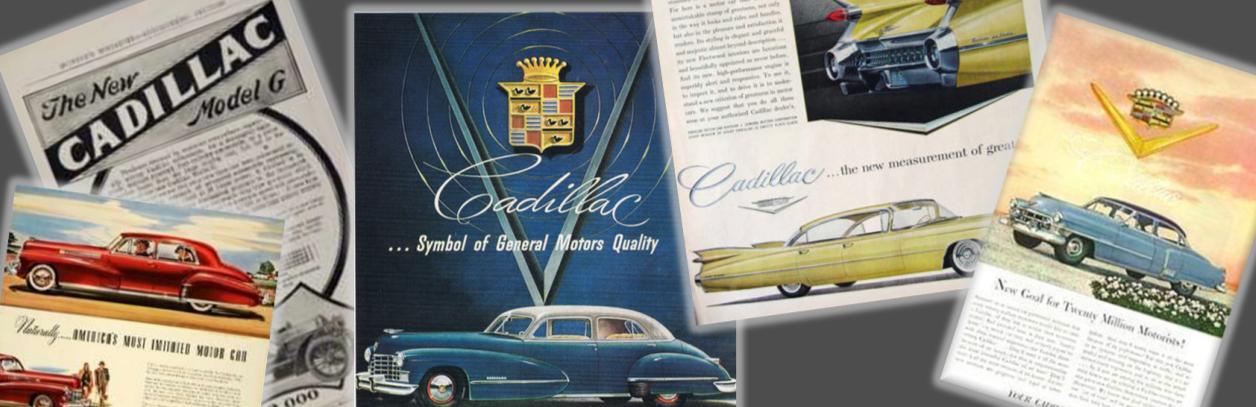 online cadillac brochures, cadillac brochures